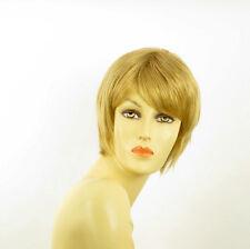Perruque femme courte blond doré OCEANE 24B