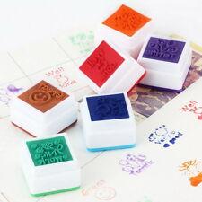 School Teachers English Self Inking Praise Reward Motivation Sticker Stampers AA