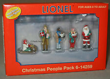 LIONEL Christmas People Pack o gauge train accessory 6-14259 NIB NR Discontinued