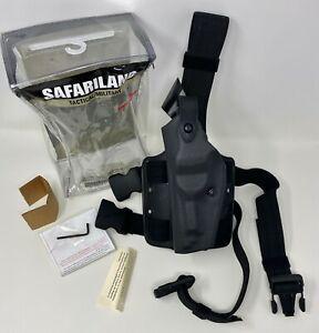 Safariland® 6004 SLS Black STX Tactical LEFT HAND Leg Holster LH - BERETTA 92 96