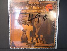 "Thomas ""Fats"" Waller 1923-24, Biograph BLP 1002Q 1970,rare sealed LP"