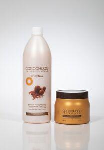 COCOCHOCO Keratin Behandlung ORIGINAL 1000ml | Kostenlose Haarmaske 500 ml