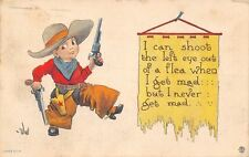 Bernhardt Wall~Pistol Packin Lil Cowboy~Can Shoot the Left Eye Out of a Flea~'13