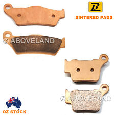 Front Rear Sintered Brake Pads KTM SX 125 Upside Down Forks 2009-2013 2014 2015