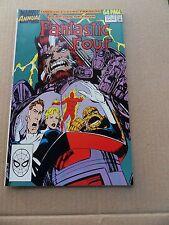 Fantastic Four  Annual 23 .   Marvel 1990  - VF - minus