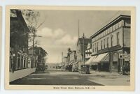 Water Street West BATHURST NB New Brunswick Canada RPO Vintage Postcard