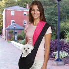 East Side Collection ZA056 18 ESC Reversible Sling Pet Carrier Black/Pink