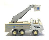 Vintage Tiny Tonka Bell System,Telephone Service Bucket Truck, # 901, 1979