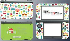 Animal Crossing Happy Home Designer Video Game Decal Skin New Nintendo 3DS XL