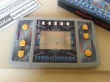 CASIO ELECTRONIC GAME, STAR INVADER,CODICE CG-600, ANNO 1986
