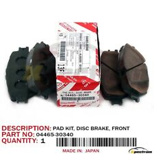 Genuine Lexus Front Brake Pads IS250 IS220d /& IS300h 04465-53040