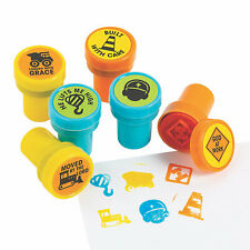 Construction Vbs Stampers - Stationery - 24 Pieces