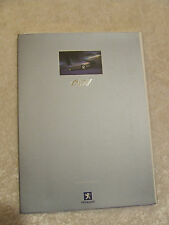 PEUGEOT 607 FULL SALES BROCHURE 2000 2.2 3.0 V6 2.2 HDI