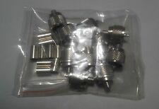 10 Packs PL-259 UHF Male Crimp Connector LMR-240 RG8X Mini 8 Coaxial RF Cable