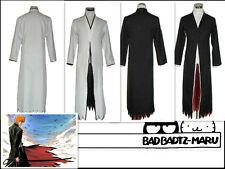 Bleach Kurosaki Ichigo Bankai Cosplay Costume Black UK