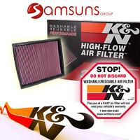 k&n Lavable Filtro deportivo DE AIRE CAMBIO Air Filter k&n 33-2787