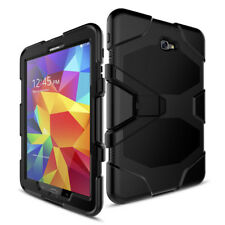 Hybrid Shockproof Rubber Case Screen Protector For Samsung Galaxy Tab A E 3 4 S2