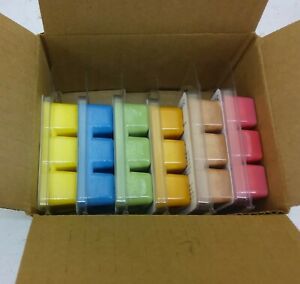 Wax melt gift set 6 Food scents 100% Soy wax max scented Free Shipping