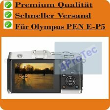 4x Olympus PEN E-P5 CrystalClear LCD screen protector guard