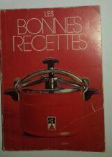 Les Bonnes Recettes Livret Rouge de cuisine de la super cocotte SEB
