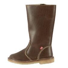 DUCKFEET Damen Leder Stiefel 3060 Vejle Cocoa Dunkelbraun / 38 / Boots