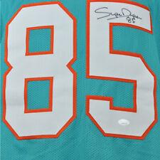 NFL Miami Dolphins Mark Duper #85 Autographed Signed Jersey Aqua XL