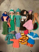 Group Lot Of Barbie & Ken Dolls and Clothes