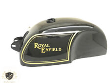 ROYAL ENFIELD CAFE RACER STEEL BLACK PAINTED 4 GALLON GAS FUEL TANK |Fit For