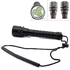 New 8000Lumen 3x XM-L2 LED Diving 18650 Flashlight Bright Torch Lamp Waterproof