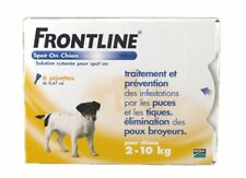 Frontline Spot-on Chien S 2-10kg 6 pipettes