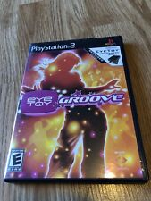 EyeToy: Groove (Sony PlayStation 2, 2004) PS2 BA3