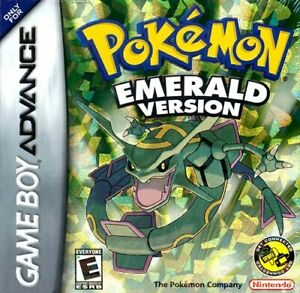 Pokemon Emerald Version GBA Great Condition Fast Shipping