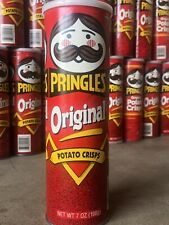 Vintage Pringles Potatos Chips. Red Can 1980s