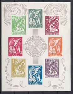 Portugal - Africa Nice S/Sheet MH (Read)