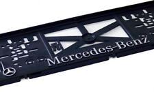 2 Stucke 1 Satz 3D Kennzeichenhalter Mercedes - mit 3D Chrom