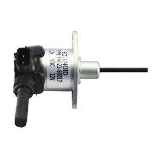 Kubota Fuel Stop Solenoid 1A021-60015 1A021-60017Tractor Mower V2003 V2203 V2403