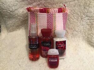 Bath & Body Works A THOUSAND WISHES Travel Body Mist Lotion Shower Gel Gift Set