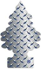 Little Trees Pure Steel Scent Tree Air Freshener- 24 Pack