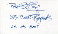 Reza Badiyi Star Trek DS9 Hawaii Five-O TV Director Producer Signed Autograph