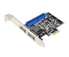 Syba 1 Port ATA133 IDE and 2 Port eSATA III PCIe 2.0 x 1 RAID Components