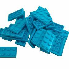 Lego 10 X Placa Technic 2 X 4 con 3 agujero Gris Negro Rojo Amarillo Blanco Azul