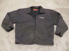 Nice CORNERSTONE Quilt Lined JACKET Mens XL Reg Grey Work Wear Mechanic Zipper