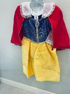 NWT  Disney Store Snow White Costume Dress SZ 4