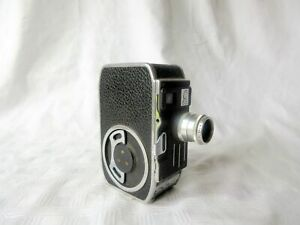 VINTAGE PAILLARD BOLEX 8mm C8S CINE CAMERA