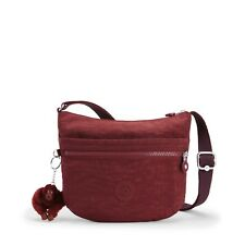 Kipling ARTO S Small Across Body/Shoulder Bag BURNT CARMINE C - FW18 RRP £54