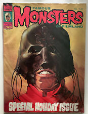 FAMOUS MONSTERS OF FILMLAND: SPECIAL HOLIDAY ISSUE #123 MARCH 1976