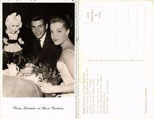CPA HORST BUCHHOLZ, ROMY SCHNEIDER Ufa/Film-Foto. Film Star Cinema (464970)