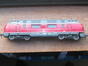 """Fleischmann Ref. No. 1381 """"Deutsche Bundesbahn"""" Diesel Hydraulic Locomotive. HO"""