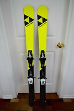 New listing FISCHER STUNNER SKIS SIZE 142 CM WITH FISHER BINDINGS