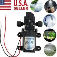 12V Water Pump Self Priming Pump 130PSI Diaphragm Automatic Switch High Pressure